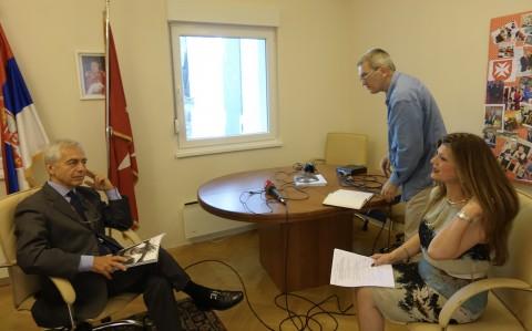 """Intervju za """"Jutarnji program"""" RTS-a"""