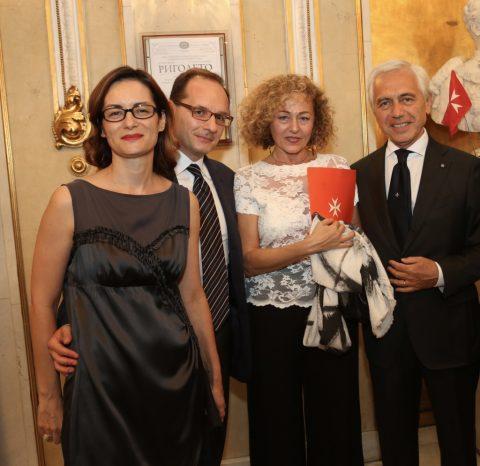The Ambassador of Italy, H.E. Giuseppe Manzo and his spouse