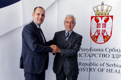 Srdačan sastanak sa Ministrom Zdravlja Srbije