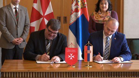 Potpisan protokol o saradnji između Vlade Srbije i Mađarske dobrotvorne službe Malteškog Reda