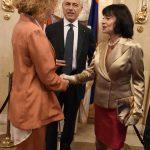 S.A.R. la Principessa Jelisaveta Karađorđević, che anche quest'anno ci ha onorato della Sua presenza