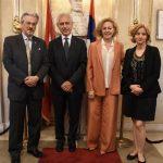L'Ambasciatore Francis Martin O'Donnell, già Ambasciatore del Sovrano Ordine di Malta in Slovacchia, con la moglie Vera