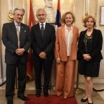 Ambassador Francis Martin O'Donnell, former Ambassador of the Sovereign Order of Malta in Slovakia, with his wife Vera