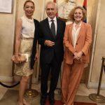 I saluti di benvenuto a S.E. Isabel Cristina de Azevedo Heyvaert, Ambasciatore del Brasile in Serbia