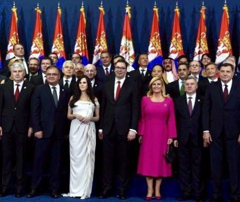 L'Ambasciatore di Luca alla cerimonia di inaugurazione del nuovo Presidente serbo Aleksandar Vucic