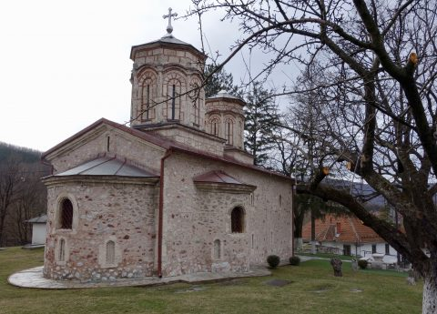 Small but charming Monastery from the XIV century