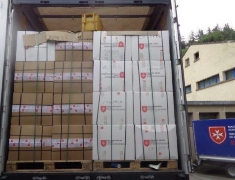 Un importante aiuto dall'Ordine di Malta svizzero