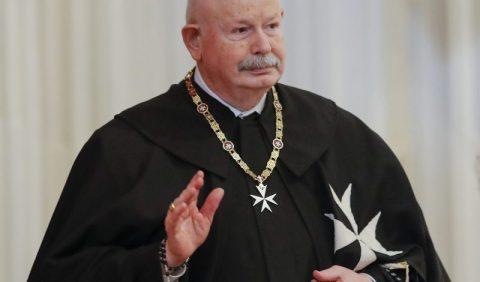 Fra' Giacomo Dalla Torre del Tempio di Sanguinetto è stato eletto 80° Gran Maestro del Sovrano Ordine di Malta.