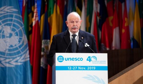 Order of Malta's Grand Master praises UNESCO's commitment to progress and respect of human dignity