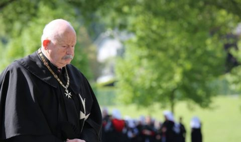 """Grand Master Order of Malta: """"Malades and their families in my prayers"""""""