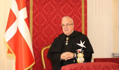 Fra' Marco Luzzago eletto Luogotenente di Gran Maestro del Sovrano Ordine Di Malta